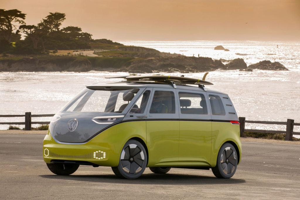 Volkswagen I.D.Buzz VW's futuristic camper