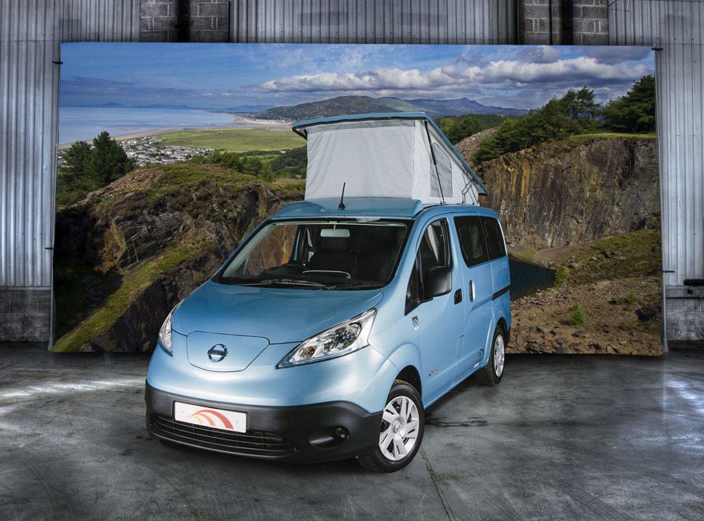 Nissan e-NV200 based Dalbury e-electric from Hillside Eisure