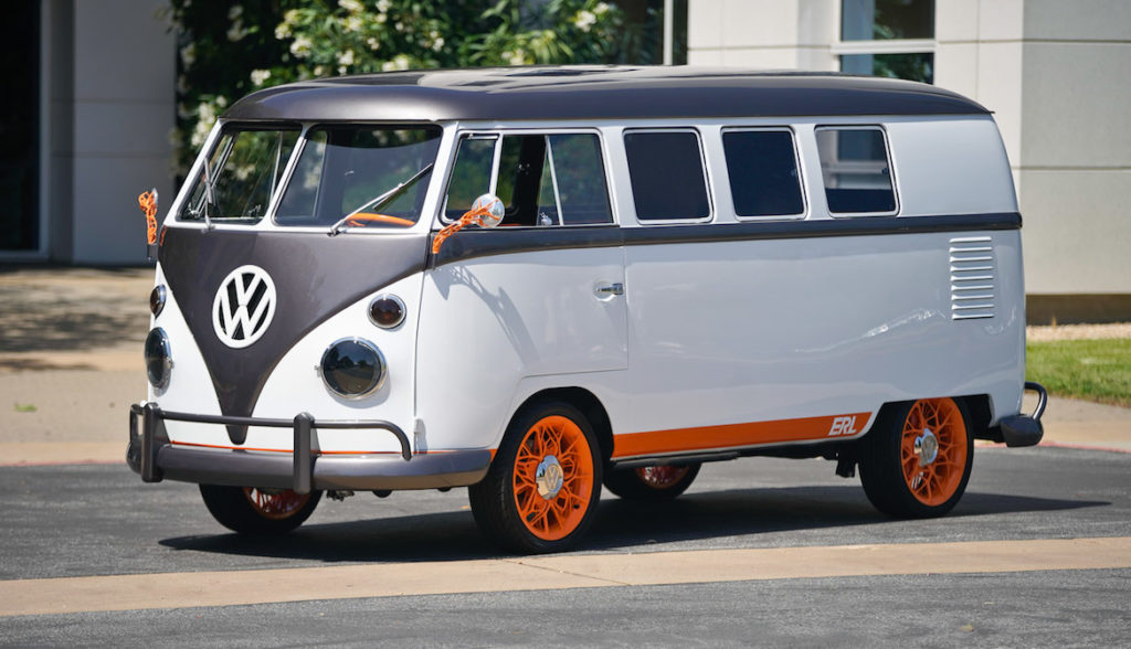 VW Type 20 electric campervan