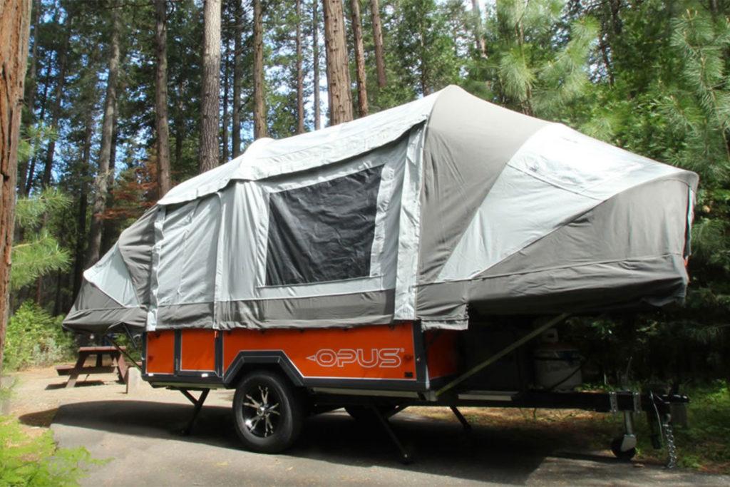 Opus Camper trailer tent