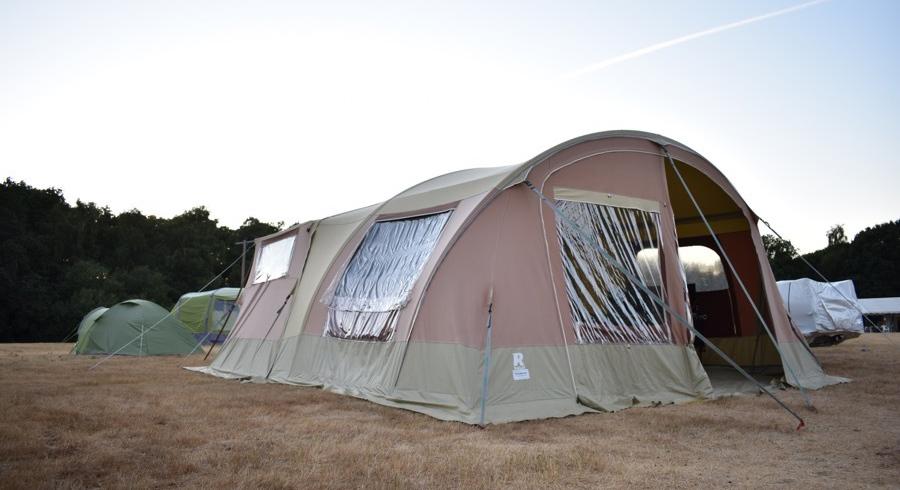 The Raclet Safari trailer tent