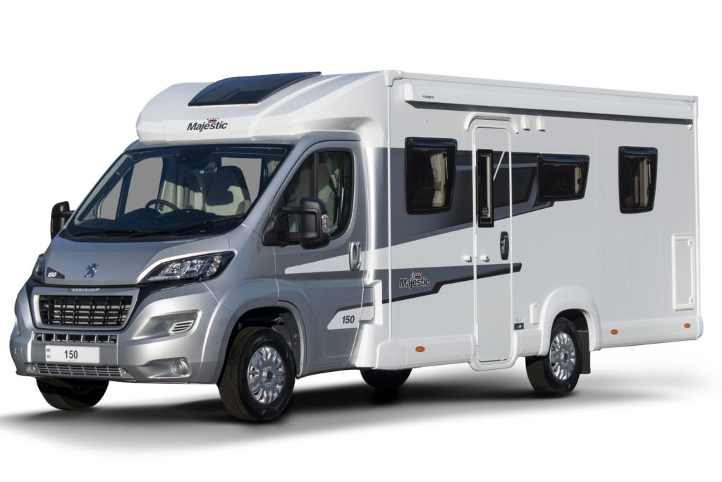 New motorhome Majestic 150 (dealership special edition)