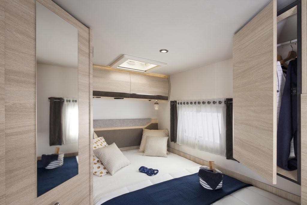 Rapido Serie C56 bedroom