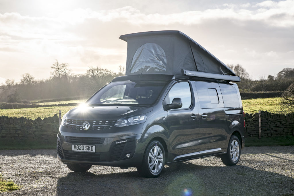 Wellhouse Vivaro Blighty new UK campervan